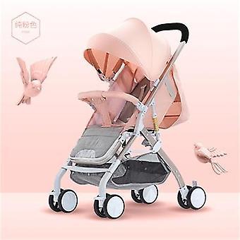 Baby Stroller Plane Lightweight Portable Travelling Pram Pushchair Aluminum