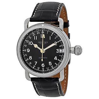 Longines Heritage Automatic Black Dial Men's Watch L27784530