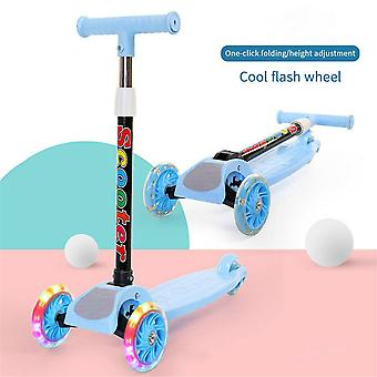 Children's Scooter 3 In 1 Balance Bike Children's Tricycle Car Kick Scooter For Kids Flash Folding Children Bicycle Ride on Toys