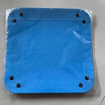 Bandeja de dados quadrados dobráveis de tecido