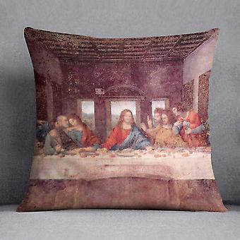 The last supper by da vinci cushion