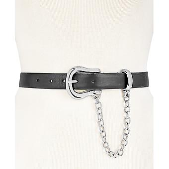 DKNY | Chain Swag Leather Belt