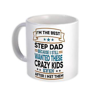 هدية القدح : أفضل STEPDAD مجنون