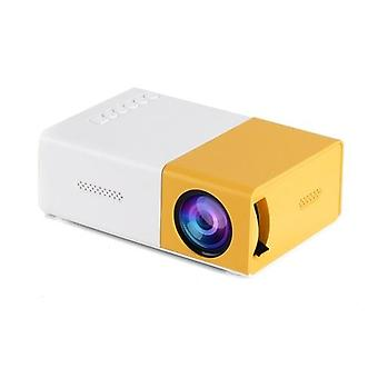 400 Lumens Mini LED Projector Portable Video Projector with Built-in Speaker & Remote Control