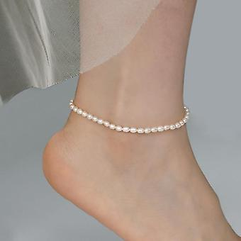 Fashion Lady Elasticity Chain Anklet