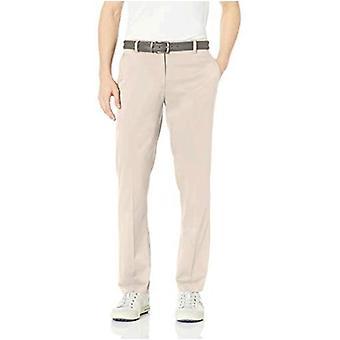 Essentials Men's Standard Straight-Fit Stretch Golf Pant,, Stone, Size