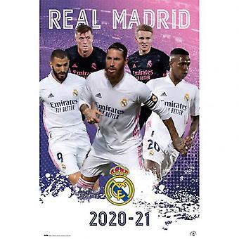 Real Madrid Juliste Pelaajat 23