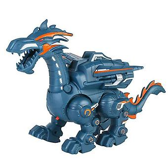 Electric Spray Mechanical Dinosaur Toy Multifunctional Sound And Light Toy