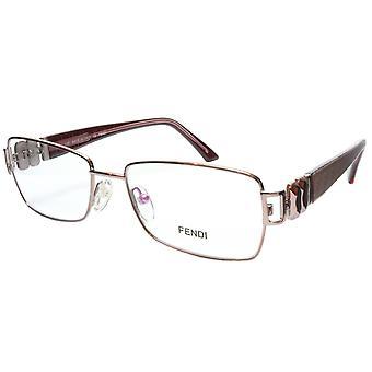 FENDI Eyeglasses Frame F883 (663) Metal Light Violet Italy Made 53-16-130, 33