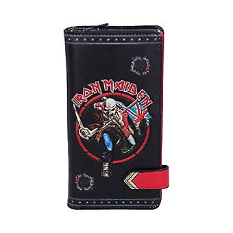 Nemesis Now - Iron Maiden Eddie Trooper official licensed bag in relief, in PU, black, 18.5 cm