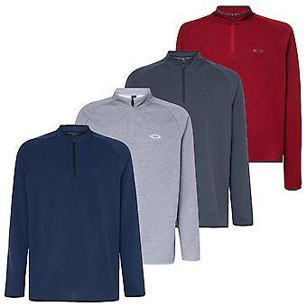 Oakley Herre 2021 Range Pullover 2.0 1/4 Zip Melange Golf Sweater