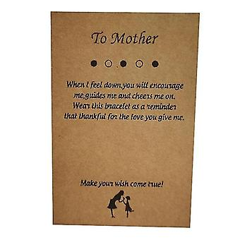 Mother's Day Jewelry Card Jewelry Paper Card
