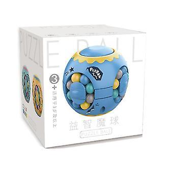 Green finger magic bean burger rubik's cube, children's intelligence gyro fingertip spin cube az5302