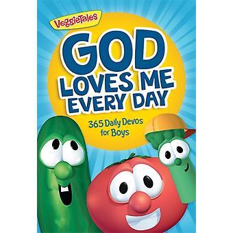 God Loves Me Every Day 365 Daily Devos for Boys by VeggieTales