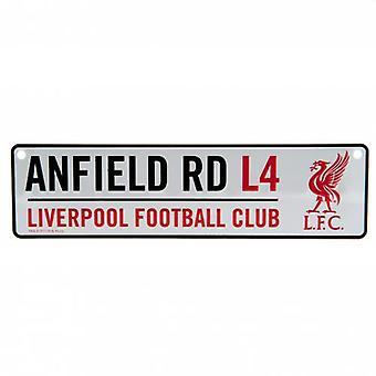 Fönsterskylt för Liverpool FC Stadium