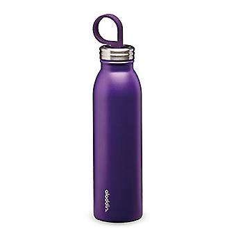 Aladdin Chilled Thermavac Stainless Steel Water Bottle 0.55L Violet Purple