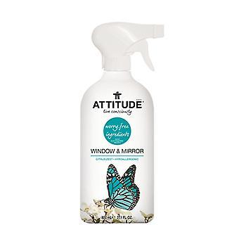 Attitude Window & Mirror Cleaner, Citrus Zest 27.1 fl oz