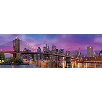 Eurographics Brooklyn Bridge New York Jigsaw Puzzle (1000 Pièces)