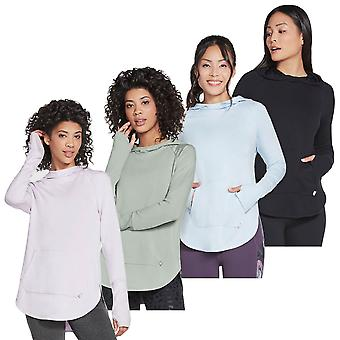 Skechers Womens 2021 Awakened SkechLuxe Slouchy Comfort Pullover Hoody