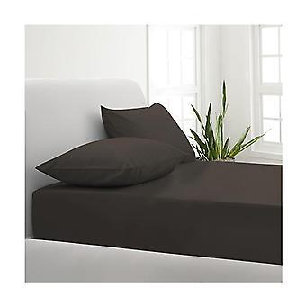 Cotton Blend Sheet And Pillowcases Set Single