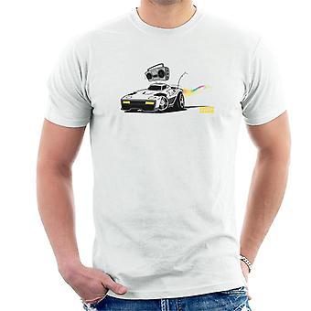 Rocket League Breakout Boombox Herr T-Shirt