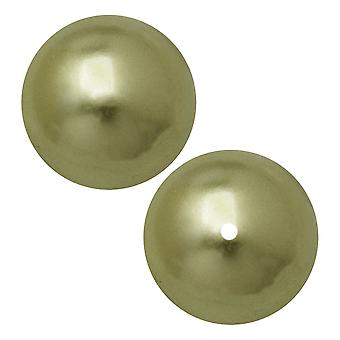 Preciosa Crystal Nacre Pearl, Pyöreä 4mm, 40 Kpl, Vaaleanvihreä