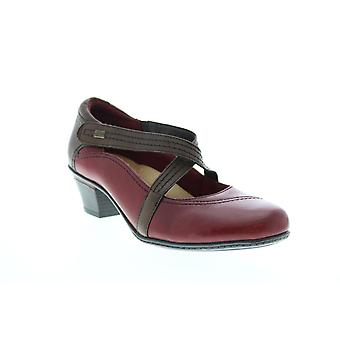 Earth Adult Womens Passage Leather Mary Jane Flats