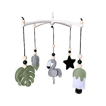 Söpö vauvan liikkuva vauvansängyn pidike / Kierrä kiinnike & sängyn kello roikkuu vauvan rattle