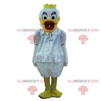 Maskottchen REDBROKOLY.COM marguerite, Donald Duck Verkleidung, Disney-Verkleidung