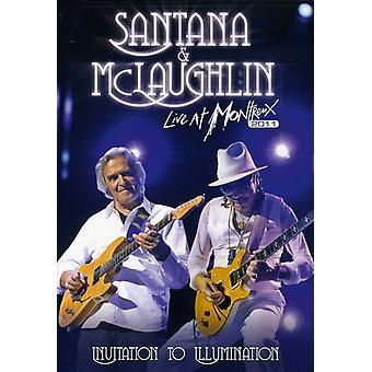 Santana, Carlos & John McLaughlin - Invitation to Illumination-Live at Montreux 2011 [DVD] USA import
