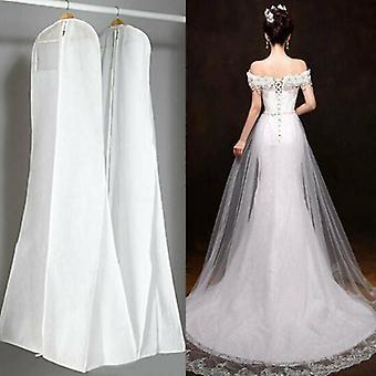 Extra Gran vestido de novia vestido de novia transpirable cubierta de polvo bolsa de ropa de almacenamiento