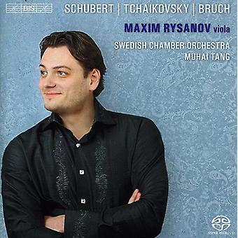 Maxim Rysanov - importation USA Maxim Rysanov joue Schubert, Tchaikovsky & Bruch [SACD]