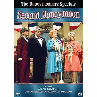 Honeymooners Specials: Second Honeymoon [DVD] USA import