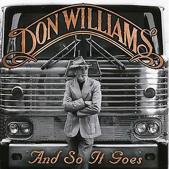 Don Williams - And So It Goes [CD] USA import