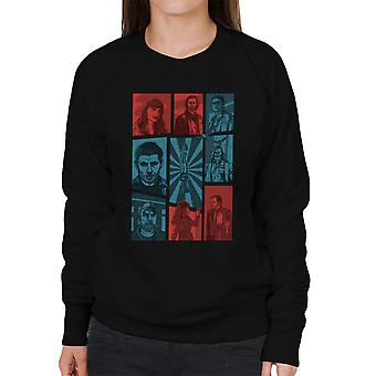 Hunter Games Supernatural Sam And Dean Winchester Gta Women's Sweatshirt