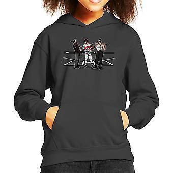 Pre Game Team Talk Walking Dead Inglorious Bastards Kid's Hooded Sweatshirt