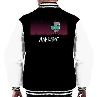 Mad Robot Gir Invader Zim Men's Varsity Jacket
