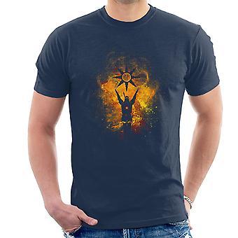 Chwalić Solaire sztuka słońce z Astora Dark Souls Men's T-Shirt