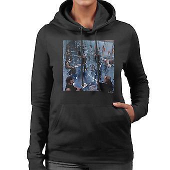 Fripp och Eno inga Pussyfooting Album täcka 1973 Women's Hooded Sweatshirt