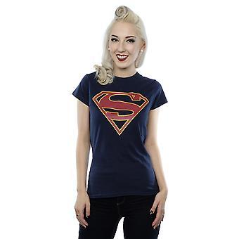 DC Comics женщин Supergirl логотип T-Shirt