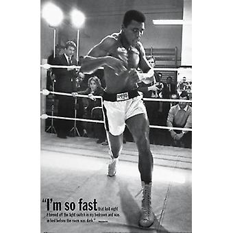 Muhammad Ali Poster Poster Print