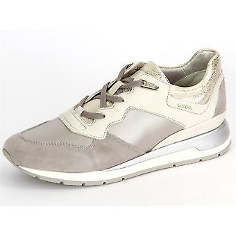 Geox Shahira D62N1B 0AK12C0856 Offwhite Grey Vitello Raso D62N1B0AK12C0856 universel toute l'année chaussures pour femmes