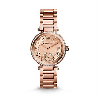 Michael Kors Ladies Watch Rose Gold Skylar MK5971