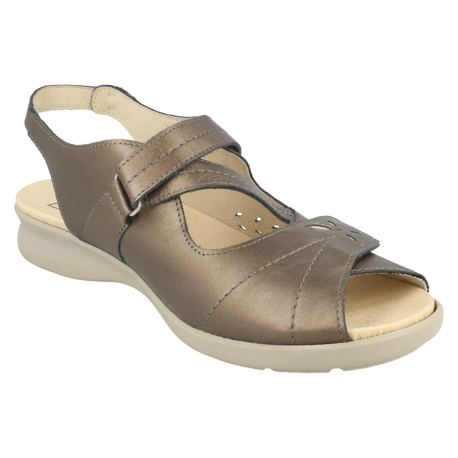 Ladies Easy B Wide Fit Slingback Sandals Sam 78326S GzuMfB