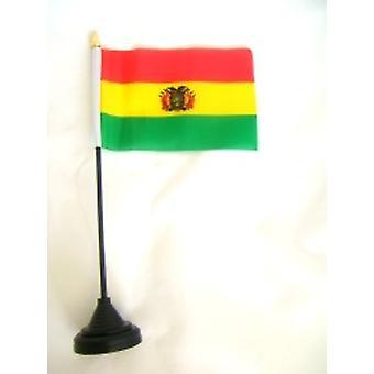 Bolivia taulukon lippu pohja ja kiinni