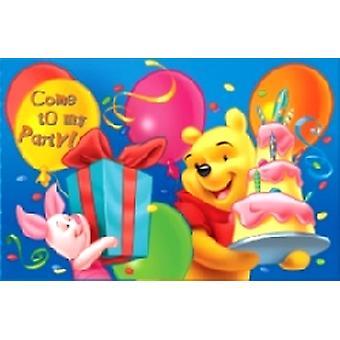 Winnie l'Pad d'invitation de Pooh