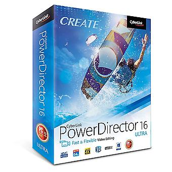 CyberLink Power Director 16 Ultra - edytorów wideo (PC)