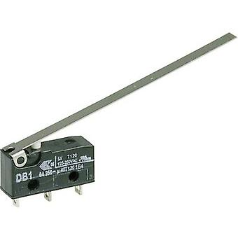 ZF Microswitch DB1C-A1LD 250 V AC 6 A 1 x On/(On) momentary 1 pc(s)