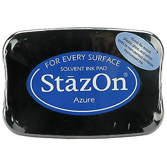 StazOn Solvent Ink Pad - Azure