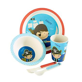 Arthur Price Pirate 5 Piece Bamboo Set